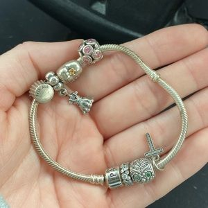 pandora bracelet (NOT INCLUDING CHARMS)